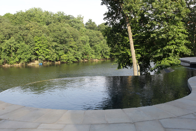 POMPTON LAKES - Infinity Edge Pool & Outdoor Living on Lake