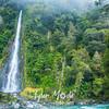 53  G Thunder Creek Falls Mt  Aspiring NP
