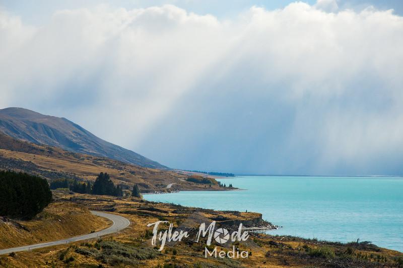 36  G Lake Pukaki and Road