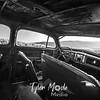 49  G Dalles Mountain Ranch Car Inside BW