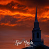 9  G LDS Church and Sunset