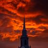 12  G LDS Church and Sunset V