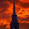 15  G LDS Church and Sunset V