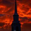 16  G LDS Church and Sunset V