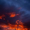 18  G LDS Church and Sunset V