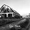 38  G Abandoned Barn Road BW