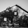 36  G Abandoned Barn BW