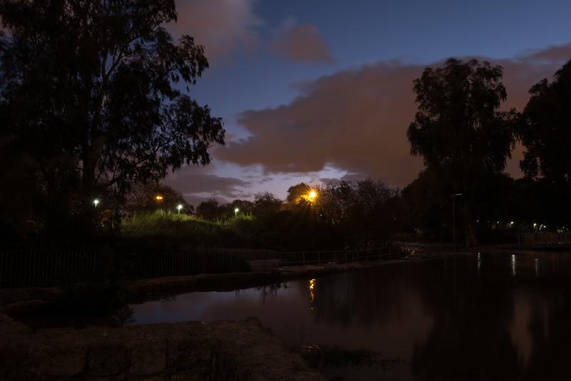 """Sunrise at """"7 Mills"""", Israel"""