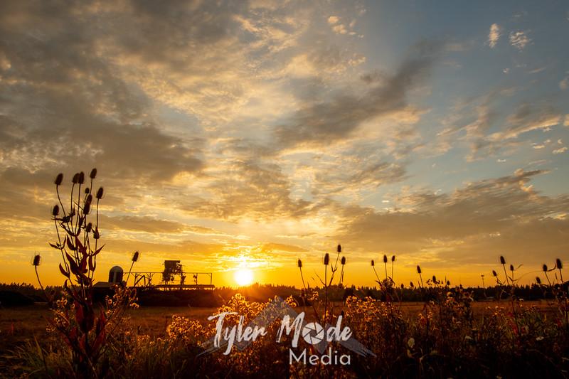 1  G Barn Sunset