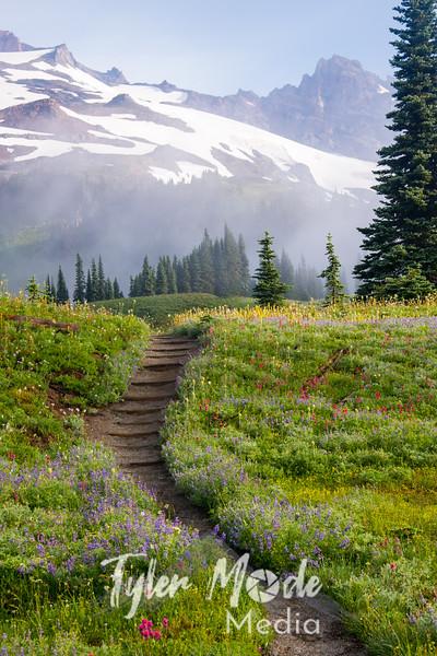117  G Flower Lined Trail V