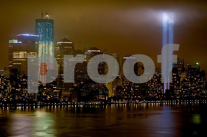 9/11 Anniversary Lights (2)