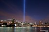 9/11 NYC Tribute in Lights : Tribute to Lights, September 11th, New York, NY