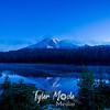 18  G Rainier Reflection Lakes Blue Hour