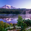 21  G Rainier Reflection Lakes Sunrise