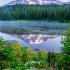 31  G Rainier Reflection Lakes Sunrise V
