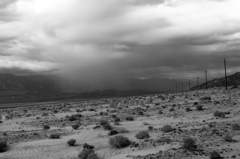 Desert rain. ©2010 Lisa Bundy