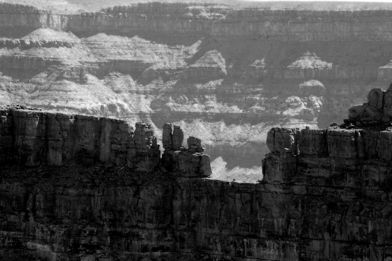 Western rim, Grand Canyon. ©2010 David Bundy