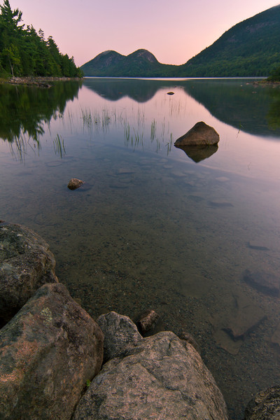 Dawn at Jordan Pond
