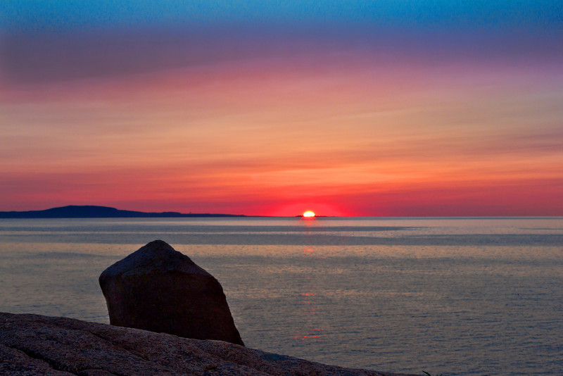 Sunrise at otter Point, Acadia  ME