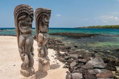 Ki'i, Guardians of the Pu'uhonua