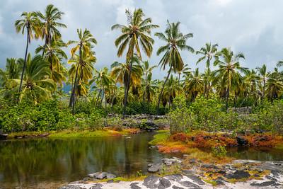 Heleipalala Fish Ponds, Pu'uhonua O Honaunau National Historical Park