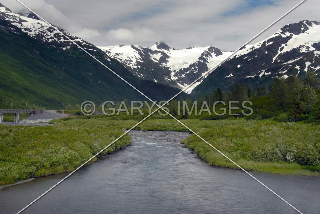 ALASKA MOUNTAIN STREAM