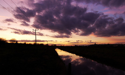 North Delph sunset