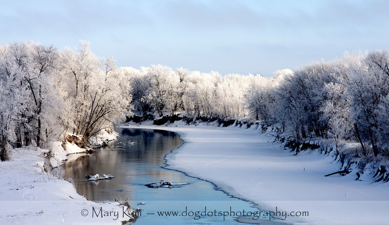 Red River in North Dakota