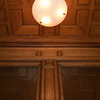 The Bradbury Building (1893) exterior entryway light<br /> 304 South Broadway, Los Angeles CA