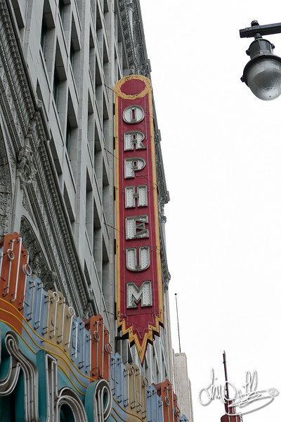 The Orpheum built