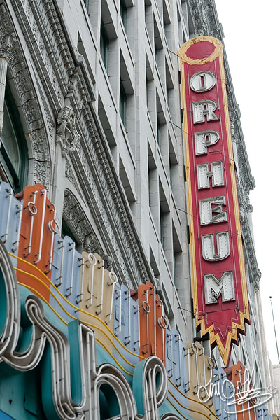 The Orpheum built