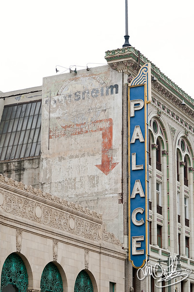 Palace Theater was formerly named Orpheum Theater (1911)<br /> 630 South Broadway, Los Angeles CA