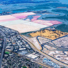 Colorful Salt Ponds