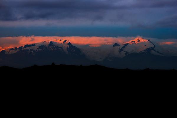 Peaks of Vatnajökull National Park