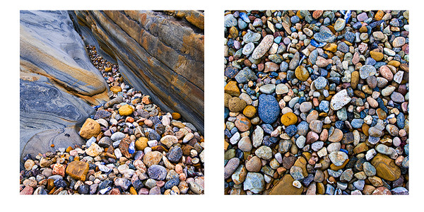 Suggested pairing of these two Rock Textures series