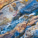 Rock Textures in Point Lobos, #2
