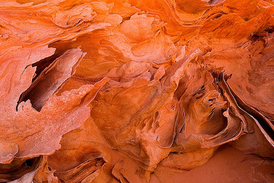 abs20:  Sandstone waves in the South Coyote Buttes, Vermilion Cliffs National Monument, Arizona