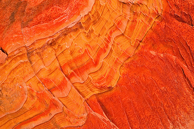 abs19: colors splash on sandstone in the South Coyote Buttes, Vermilion Cliffs National Monument, Arizona