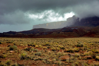 Storm over Vermilion Cliffs