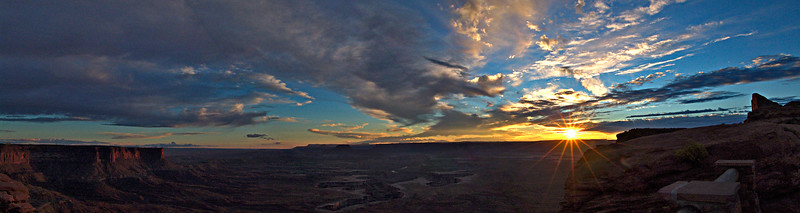 Sunset, Islands in the Sky, Canyonlands NP