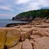 Acadia's rocky coast looking towards Otter Cliffs.