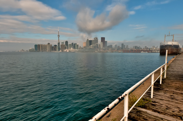 Morning Skyline<br /> Toronto, Ontario