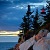 Evening at Bass Harbor Light