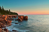Maine, Acadia National Park, Schoodic Peninsula,  Rock, Sunset, Landscape, 缅因, 阿卡迪亚国家公园 海岸 风景