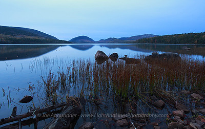Moonlit Lake.  October 2011. Eagle Lake.  Taken pre-dawn with a long exposure and the moonlight.