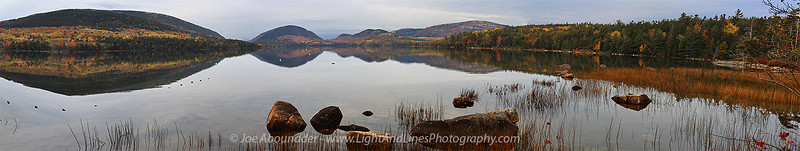 Eagle Lake Panorama.  October 2011.