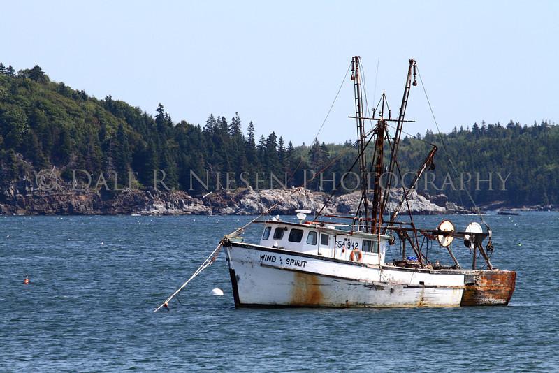 The bay at Bar Harbor, Maine