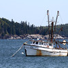 The bay at Bar Harbor, Maine