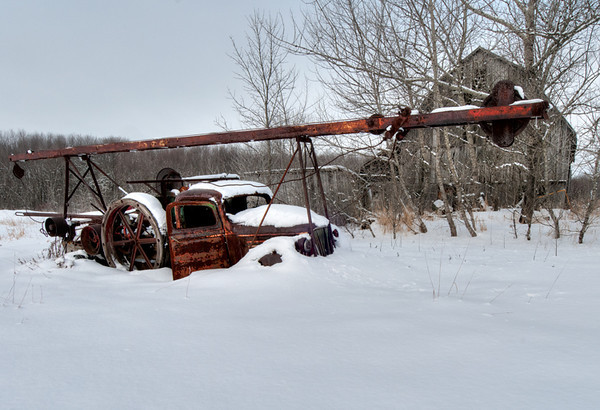 Relics of the Past,<br /> Manitoulin Island