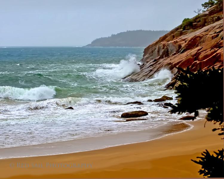 Winter at Sand Beach